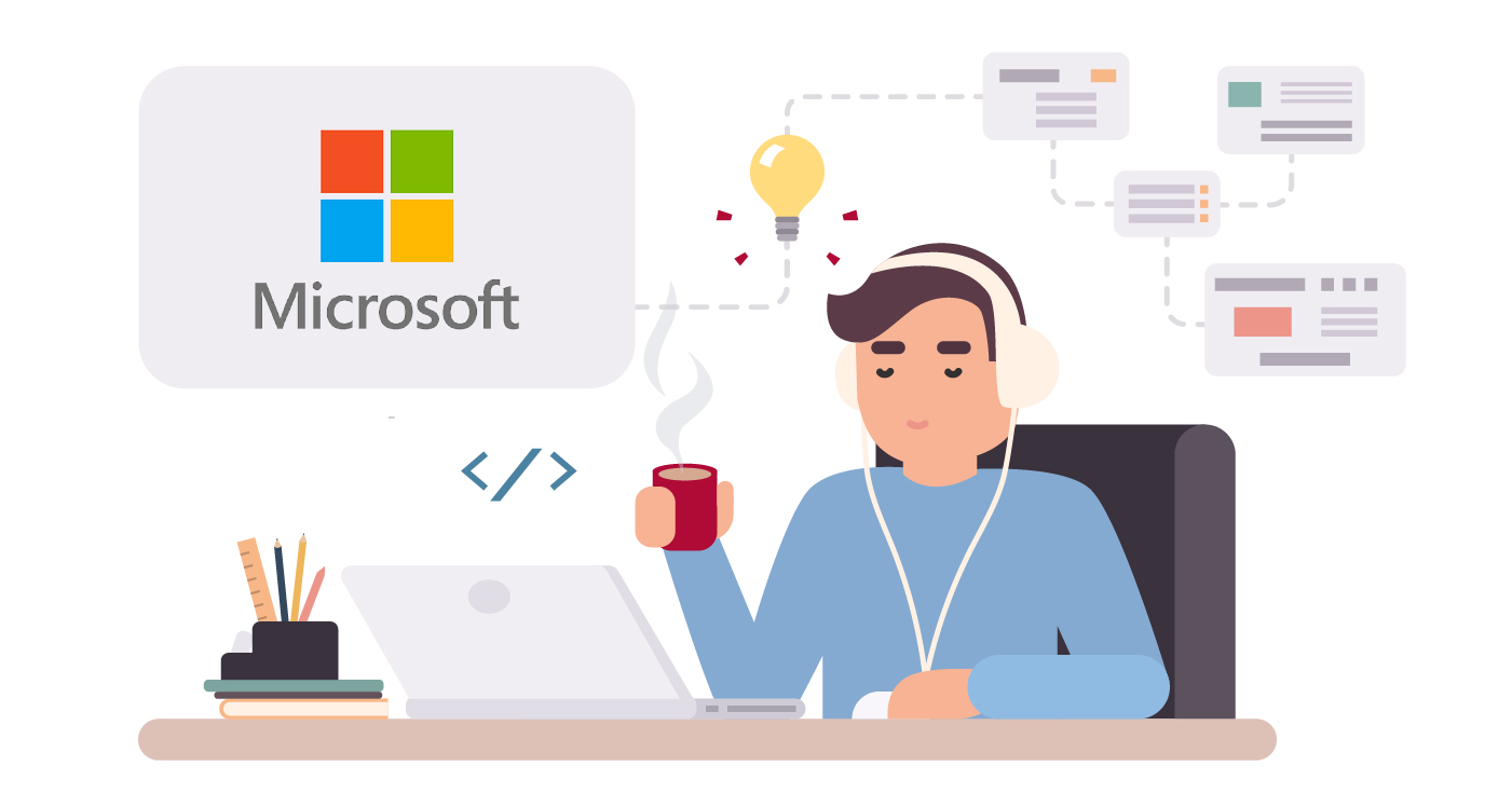 Remote working with Microsoft