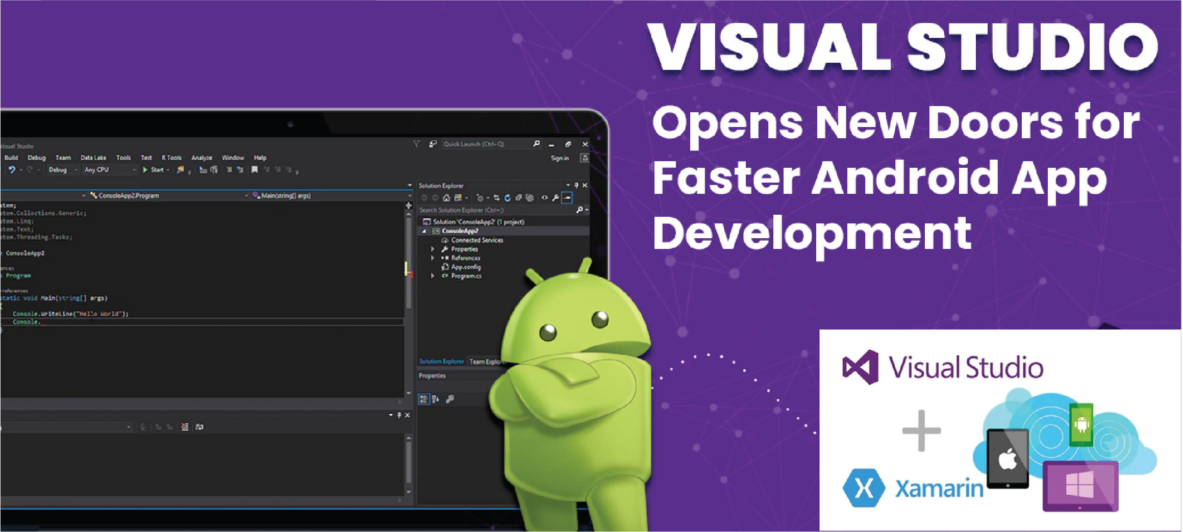 """Visual Studio – Xamarin"""