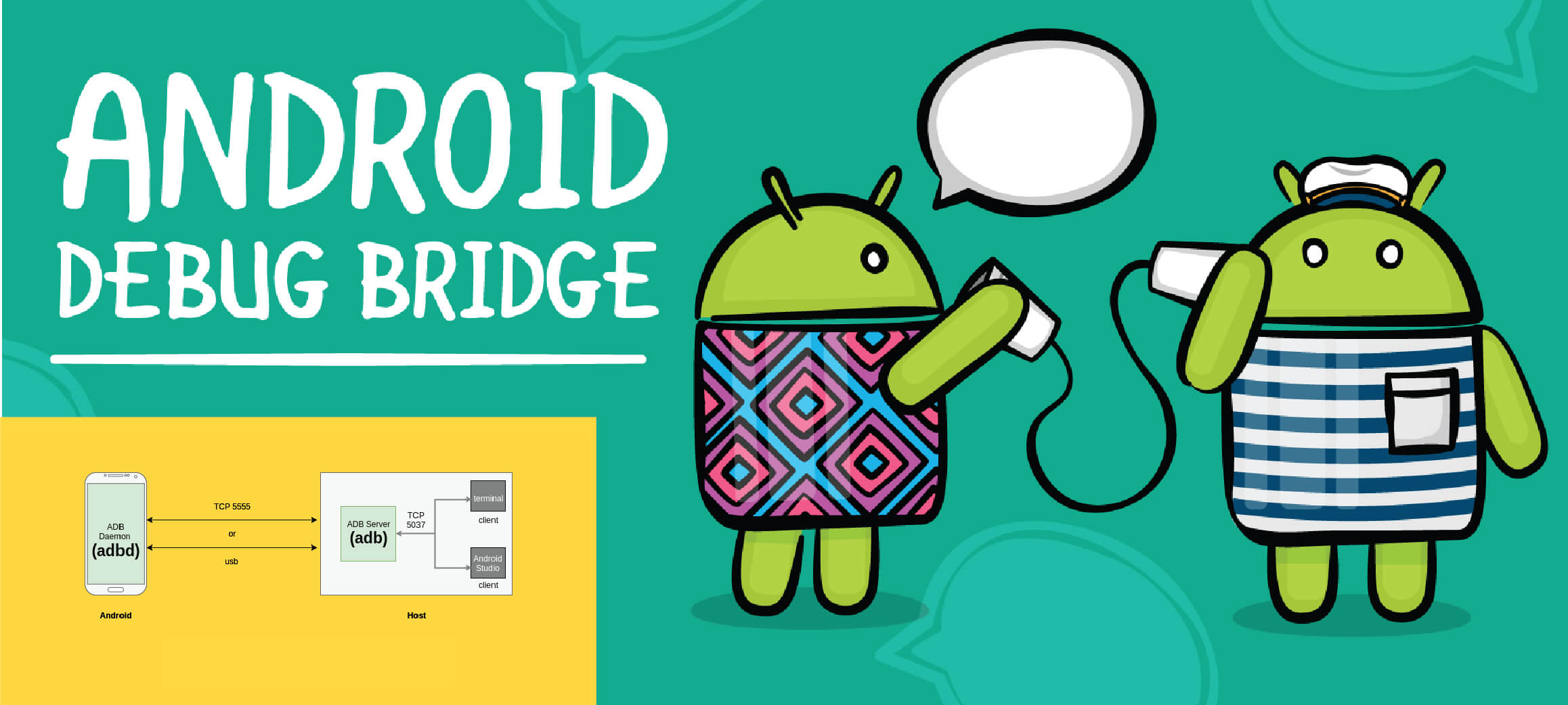 """ADB (Android Debug Bridge) """