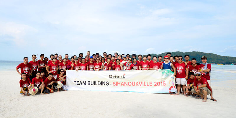 Orient team building 2016 group photo