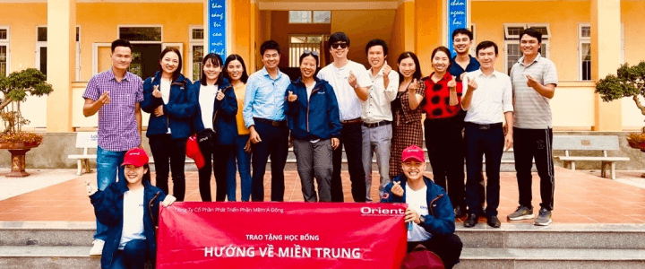 Orient Software Supporting Quang Binh Communities After the Storms